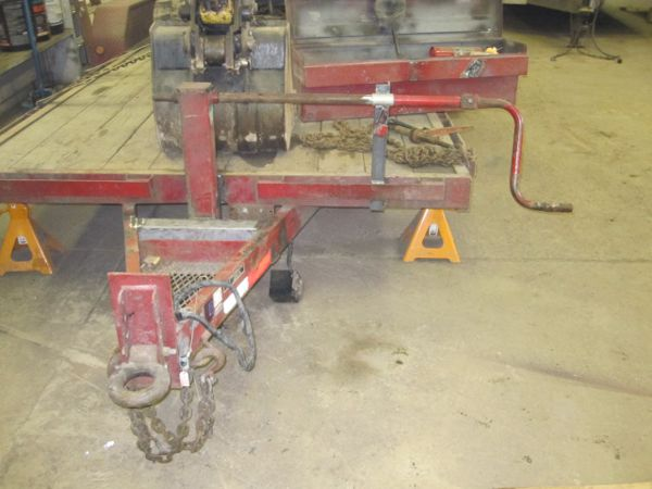 Completed Trailer Jack Repair
